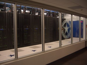 Dallas Cowboys Technology Center with HP Servers